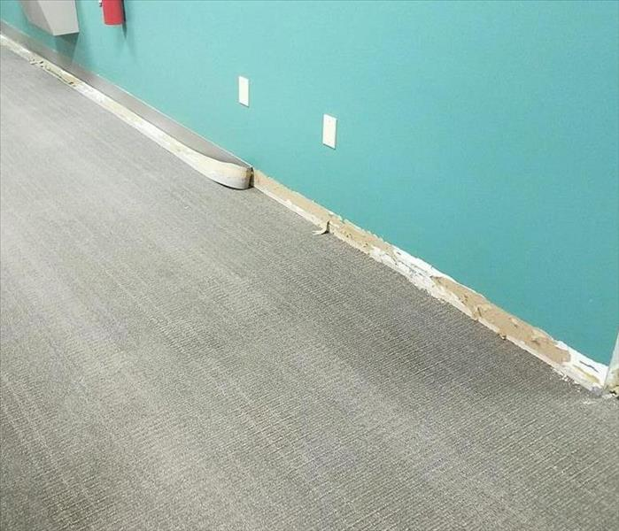 Office Building Water Damage After