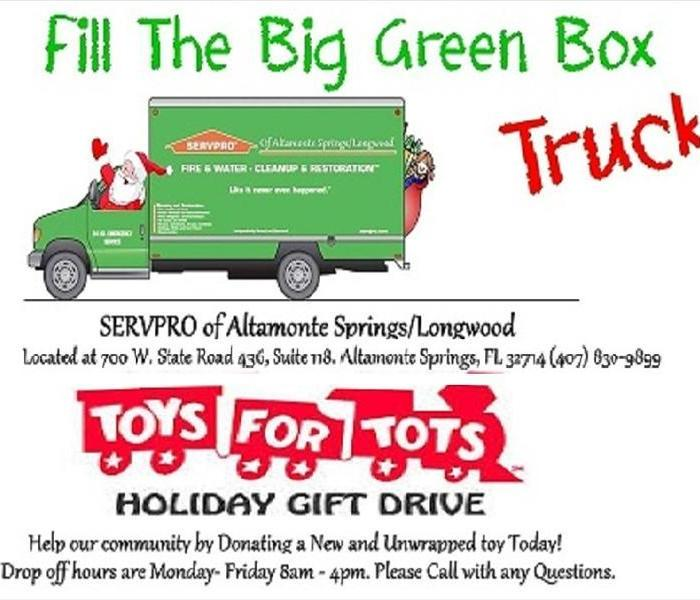Community Official Toys for Tots Drop off  Location